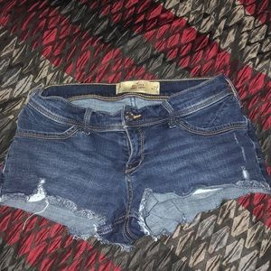 Hollister Low-rise Denim Short-Short